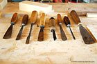 cristin's carving tools